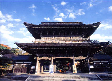 Sanmon(main gate)